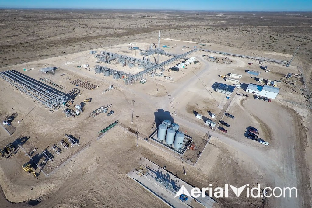 Aerial Oil and Gas Industrial Photography
